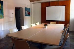 Seminarraum in Blockform